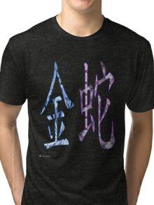 Metal Snake 1941 and 2001 Tri-blend T-Shirt