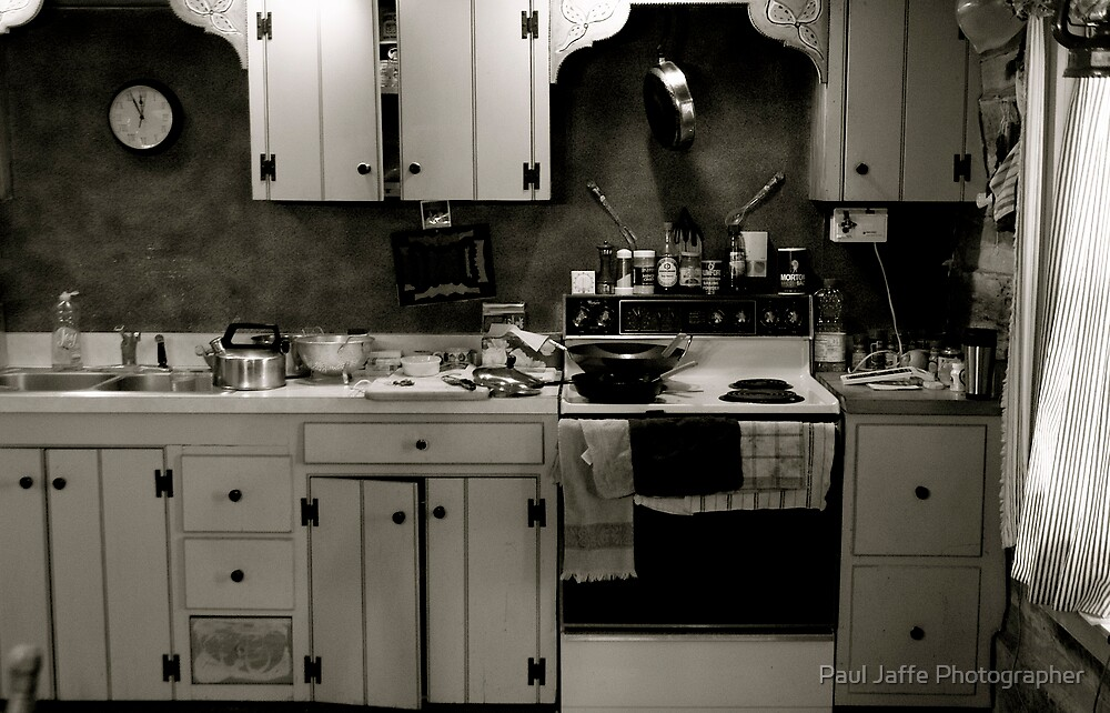 Eric's Kitchen by Paul Jaffe Photographer
