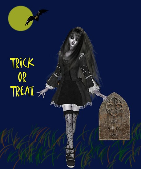 Trick or Treat by Catherine Crimmins