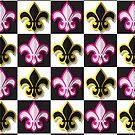 Fleur de lis pattern by Richard Laschon