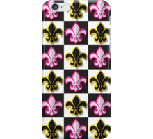 Fleur de lis pattern iPhone Case/Skin