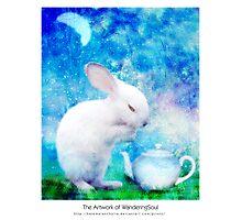 Ah, My bunny! Photographic Print