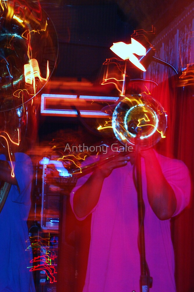 Trumpets and Trombones by Anthony Gale