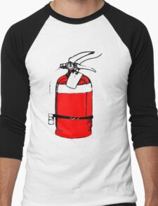 fire extinguisher Men's Baseball ¾ T-Shirt