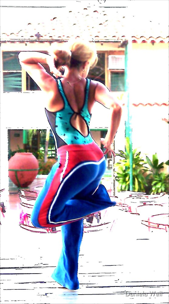 Solo dance practice by Daniela Weil
