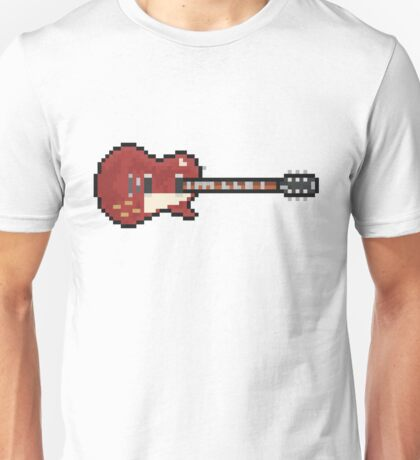 Pixel Red Page Deluxe #3 Guitar Unisex T-Shirt