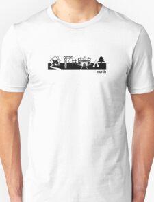 Font landscape T-Shirt