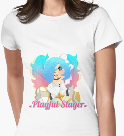 Playful Slayer Womens Fitted T-Shirt