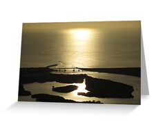 Sebastian Inlet Sunrise (2) Greeting Card