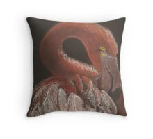 Flaming Throw Pillow