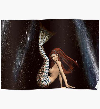 Space Mermaid 3 Poster