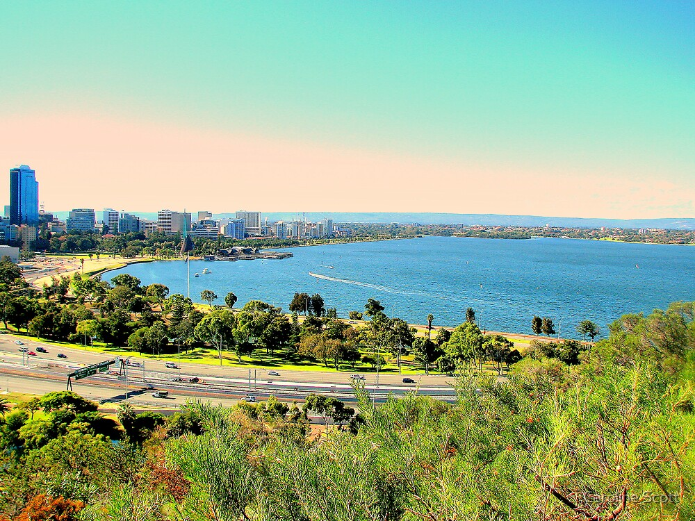 Perth Western Australia by Caroline Scott