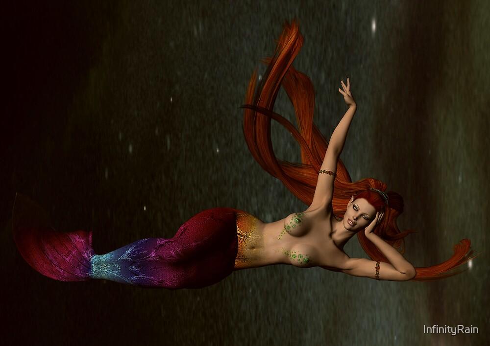 Space Mermaid 4 by InfinityRain