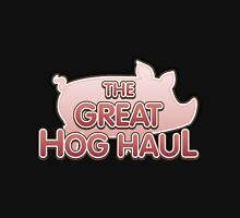Glitch Overlay The Great Hog Haul logo Unisex T-Shirt