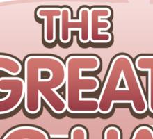 Glitch Overlay The Great Hog Haul logo Sticker