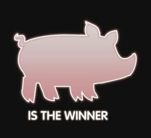 Glitch Overlay The Great Hog Haul Winner Kids Tee