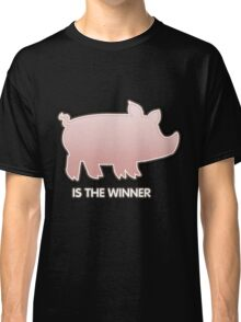 Glitch Overlay The Great Hog Haul Winner Classic T-Shirt
