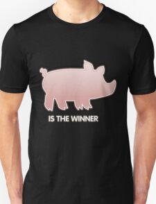 Glitch Overlay The Great Hog Haul Winner T-Shirt