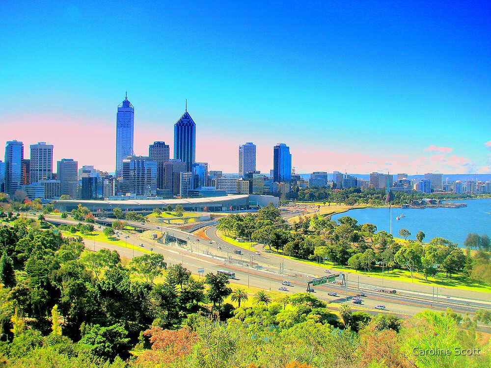 Perth - Western Australia  by Caroline Scott