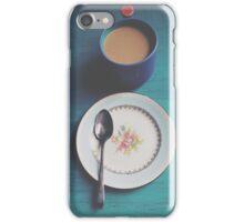 Quiet Weekend Morning iPhone Case/Skin