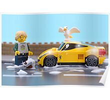 Lego car wash Poster