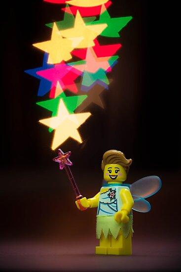 Lego Fairy by Kevin  Poulton - aka 'Sad Old Biker'