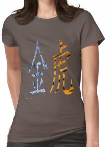 Metal Tiger 1950 Womens Fitted T-Shirt