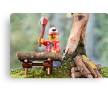 Lego Lumberjack Canvas Print