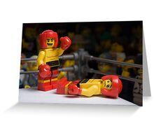 Knock-out Greeting Card
