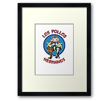 The Chicken Brothers Framed Print