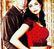 Mal and Inara by kayve