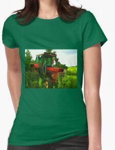 Old vintage tractor digital art manipulation T-Shirt