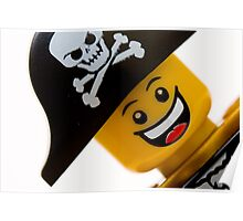 Happy Lego Pirate Poster