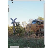 Train Crossing iPad Case/Skin