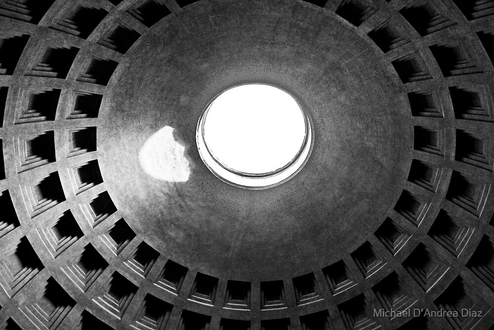 Roman Pantheon by Michael D'Andrea Diaz