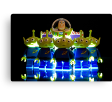 Lego Buzz with Alien friends Canvas Print