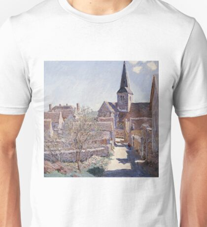 Claude Monet - Bennecourt Unisex T-Shirt