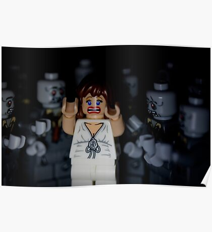 Lego Zombies - close up Poster