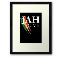Jah Love ( WHITE ) Framed Print