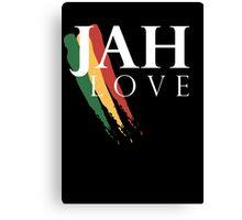 Jah Love ( WHITE ) Canvas Print