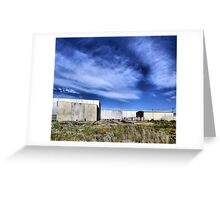 Transitional Industrial Utopia Greeting Card