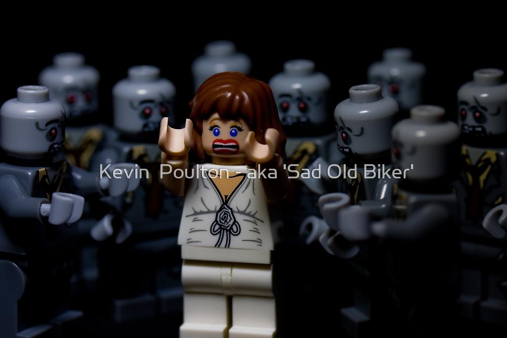 Lego Zombies by Kevin  Poulton - aka 'Sad Old Biker'