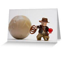 Run, Indy ! ! Greeting Card