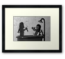 "Norman: ""Is that you, Mother? "" Framed Print"