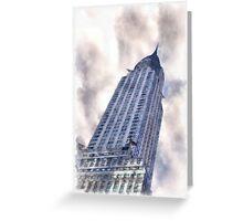 Chrysler Building NYC Greeting Card