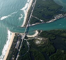 High Overhead at the Sebastian Inlet by IRCbyAir