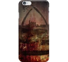 Whitby Abbey (Through the whale bone arch) iPhone Case/Skin