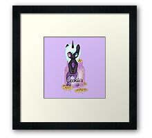 My little pony in a cookie jar Framed Print