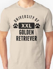 University Of Golden Retriever T-Shirt