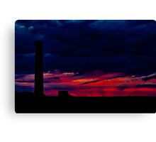 """Fire at the Horizon"" Canvas Print"